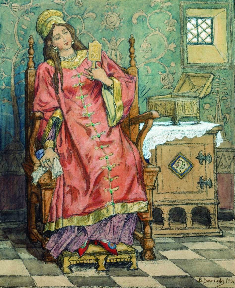 Царевна-несмеяна — известный персонаж русских сказок
