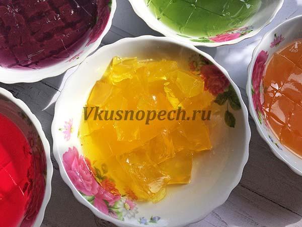 приготовление торта Битое стекло