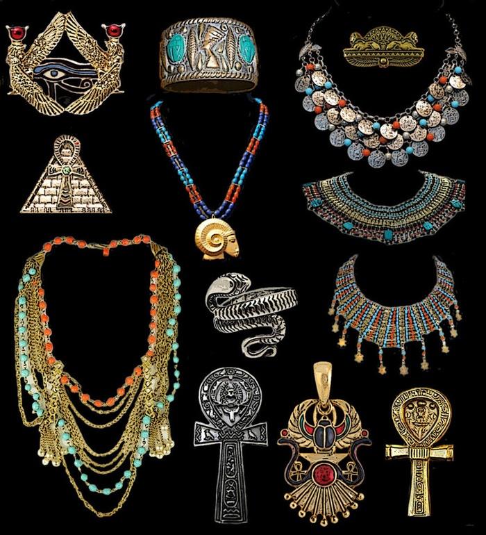 Бижутерия в египетском стиле