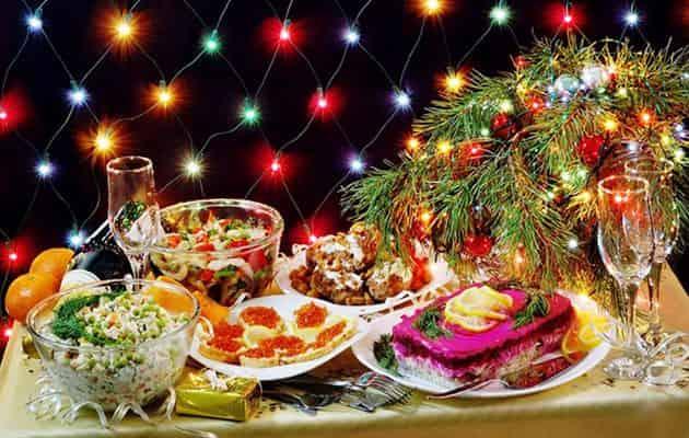Что должно быть на столе в Новый год Свиньи