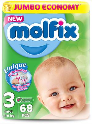 Подгузники Molfix. Отзывы
