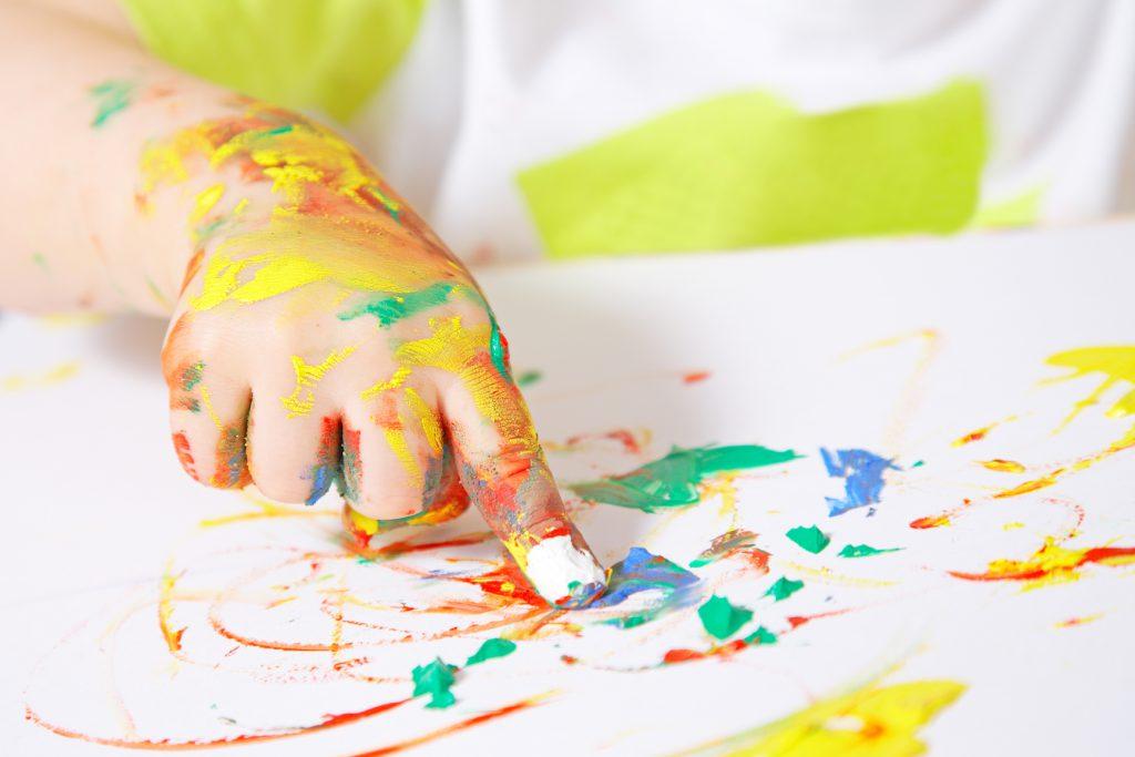 Рисование пальцами
