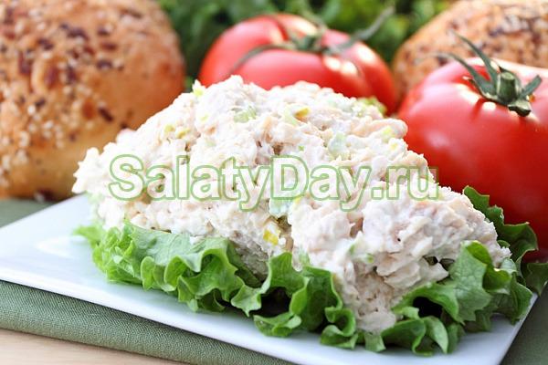 Салат «На обед» с рисом