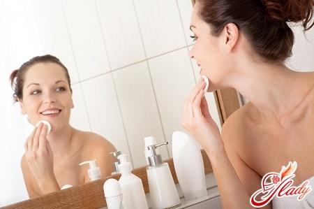 очищение кожи лица кислым молоком