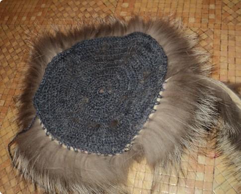 вязаная норка шапка мастер класс