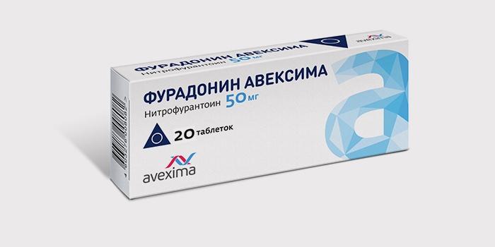 Фурадонин от бактериального цистита у женщин