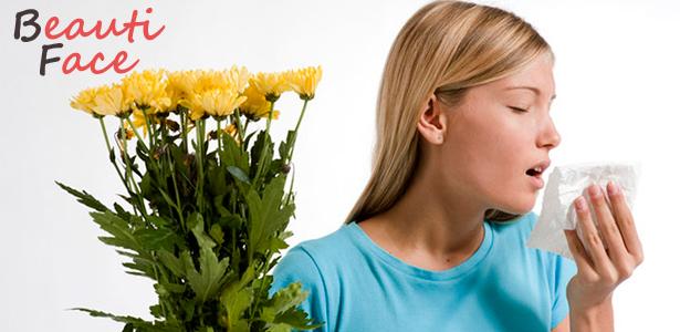Причины аллергии на лице