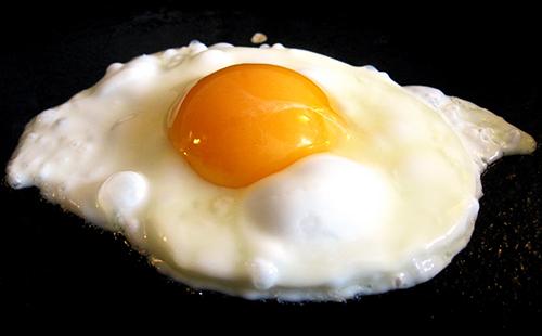 Глазунья из одного яйца