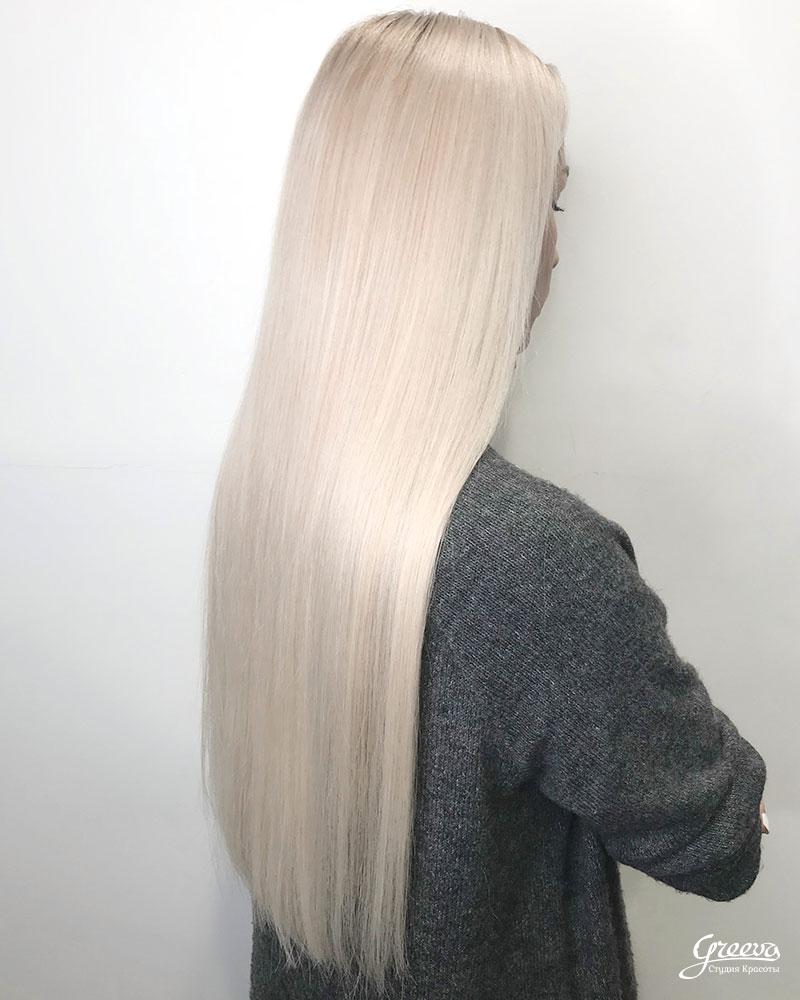 идеальное наращивание волос