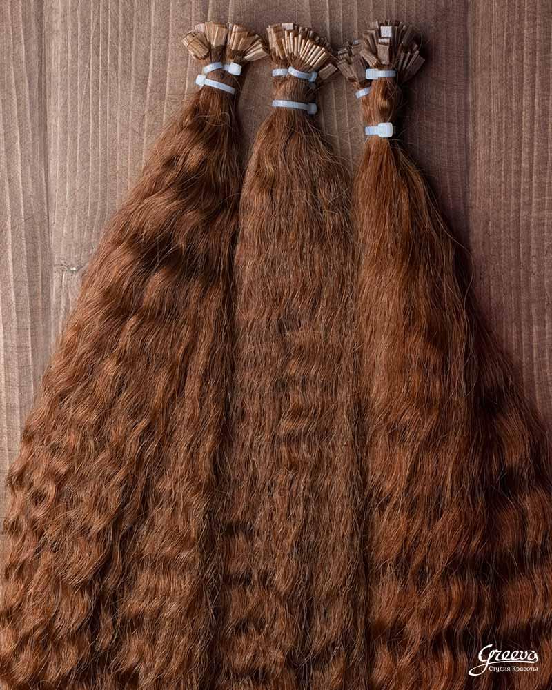 Волосы для микрокапсульного наращивания