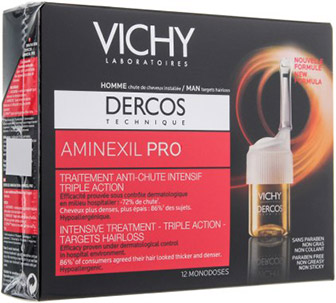 Ампулы Vichy Dercos Aminexil Pro