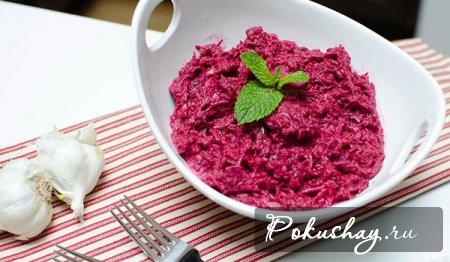 Салаты из вареной свеклы - рецепты с фото. Как приготовить вкусный свекольный салат в домашних условиях