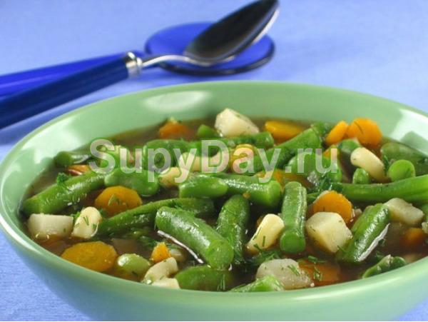 Боннский суп с фасолью
