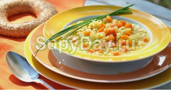 Боннский суп с пекинской капустой