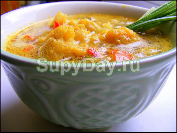 Боннский суп с карри