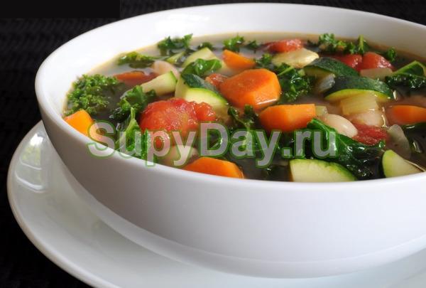 Боннский суп с тмином и карри