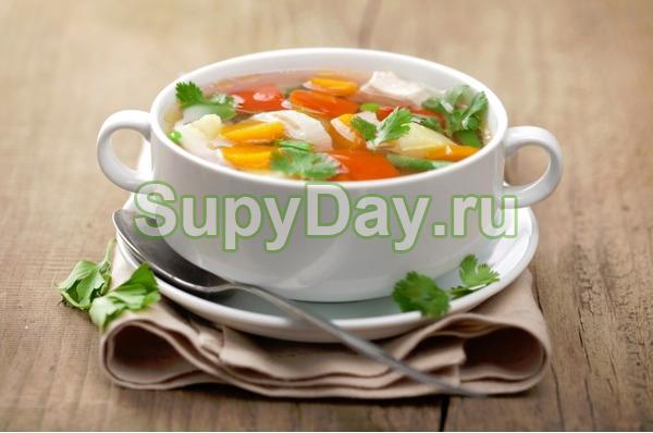 Боннский суп-пюре с томатами- сливками