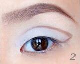 Вечерний макияж для азиатских глаз