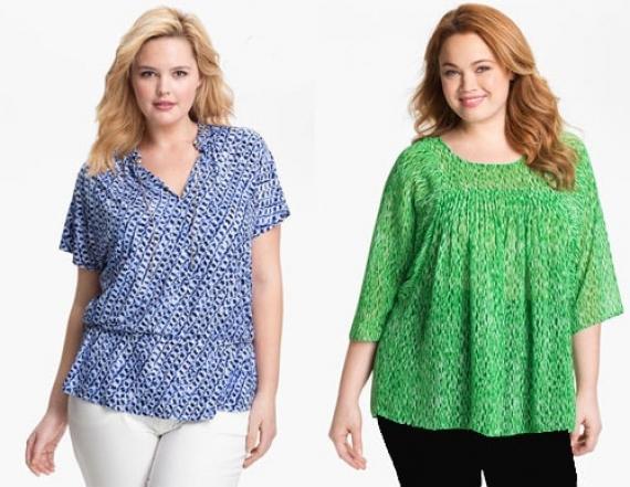 Блузки для полных модниц 2019