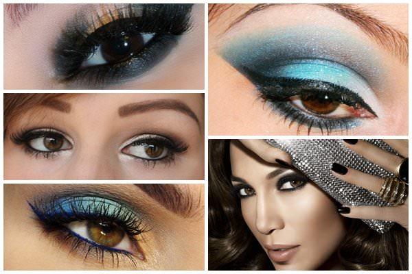 Разные варианты макияжа