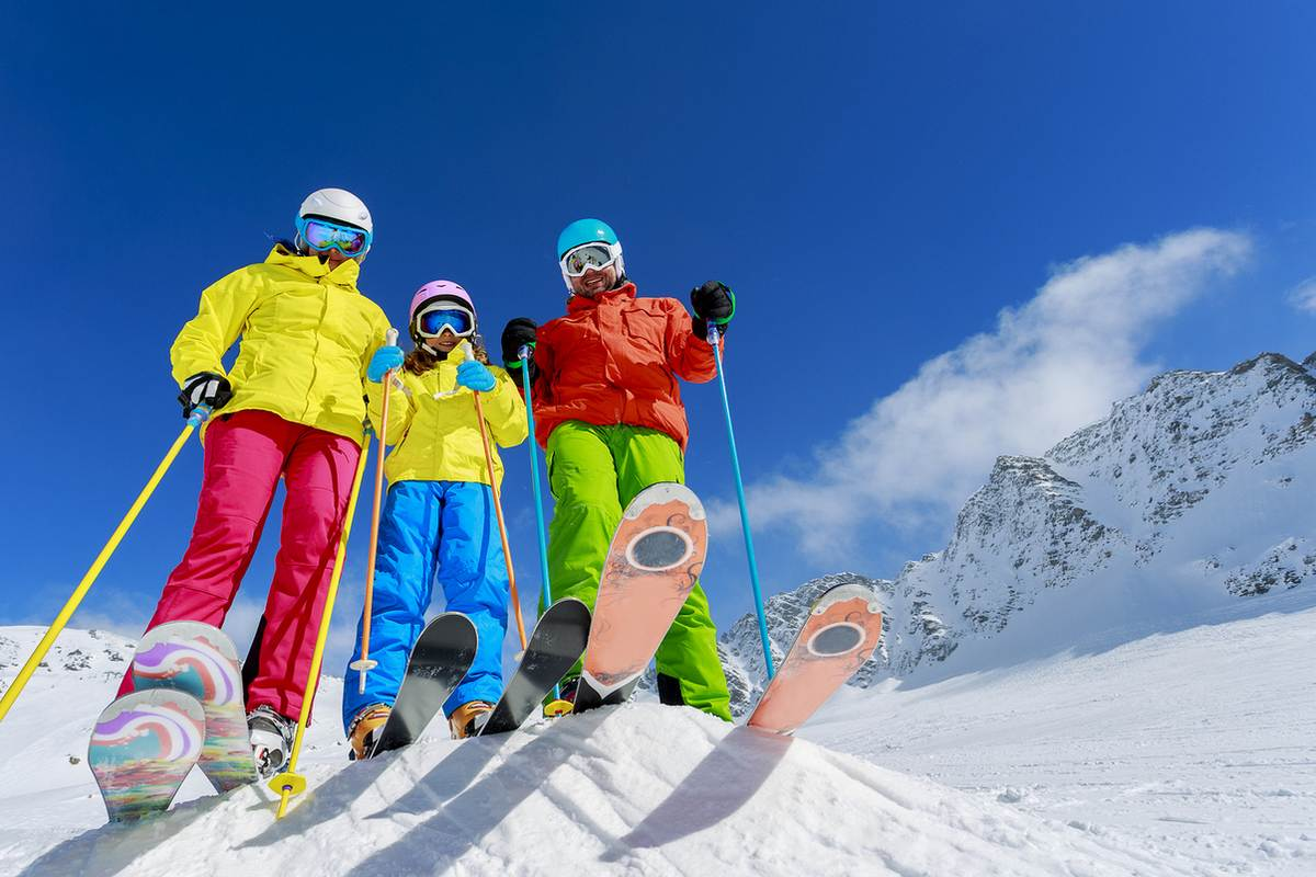 Лучшие горнолыжные костюмы 1