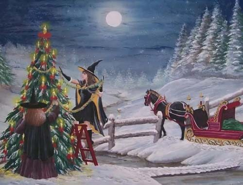 Таинственный праздник зимнего солнцестояния - Йоль ( Германия)
