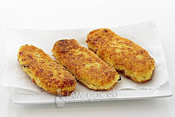 Рецепт картофельных зраз с мясом