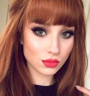 вечерний макияж для серо зеленых глаз