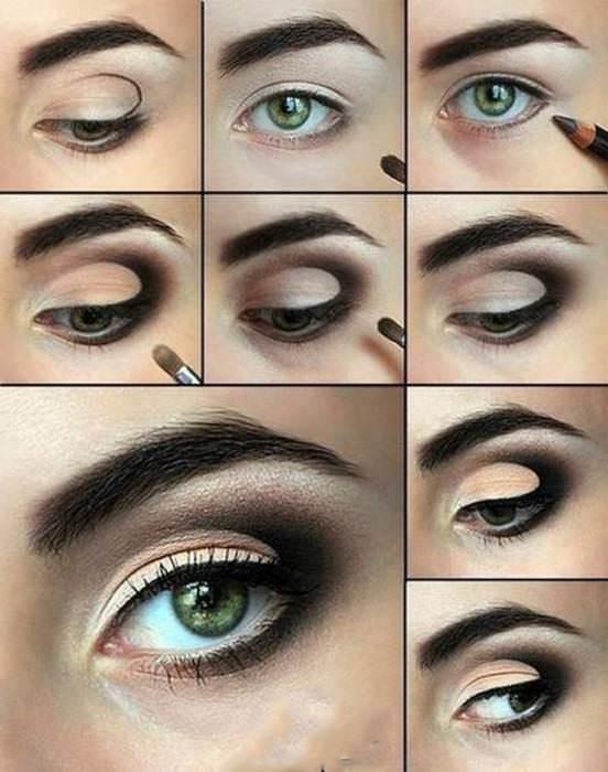 Инструкция по нанесению макияжа глаз