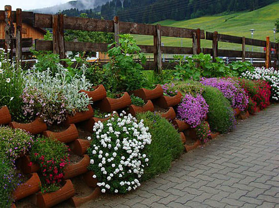 Правила составления цветников своими руками