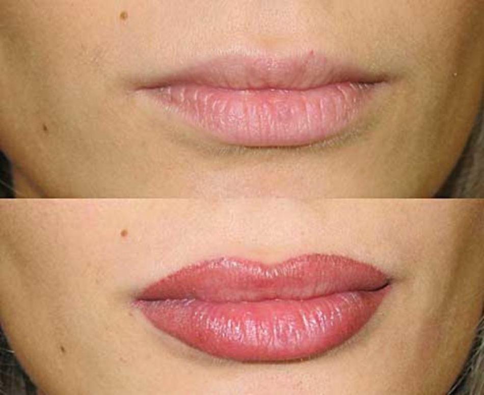 Эффект от перманентного макияжа